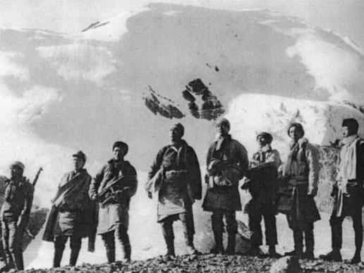 中国とチベット(抗中兵士)image