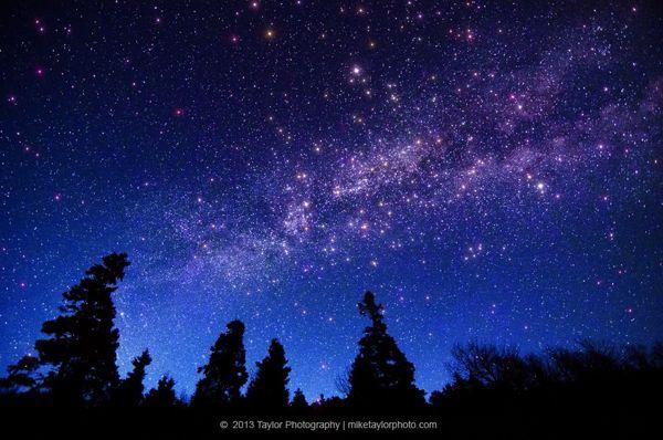 青い夜空image