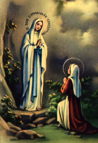 ルルド(聖母とベルナデッタの御絵)image