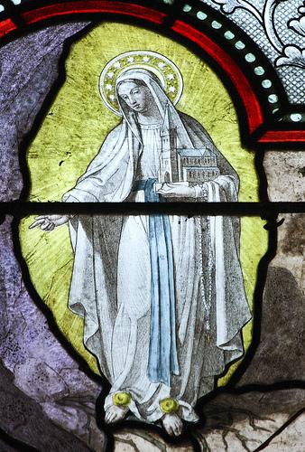 ルルド(聖堂の建設を促す聖母)image