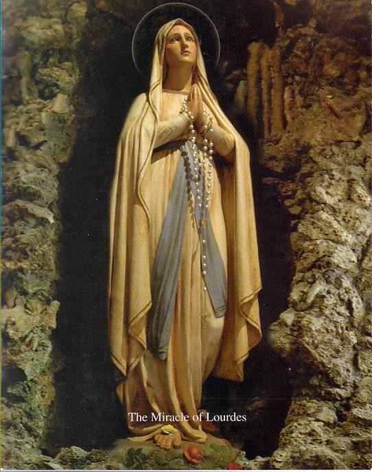 ルルド(とある聖母像)image
