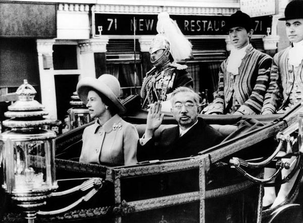 皇室(昭和天皇とエリザベス女王)image