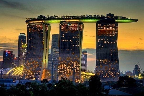 とある都会の風景(シンガポール)image