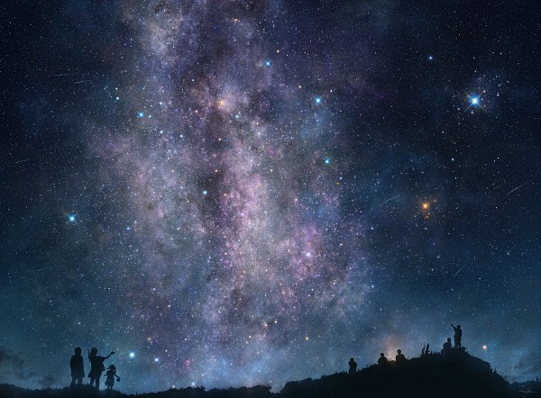 星空(影絵)image