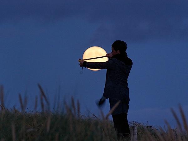 星空(月と遊ぶ)image