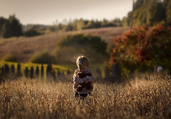 人として(ロシア農場の子供)image