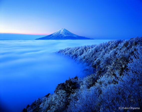 富士山(by大山行夫)image