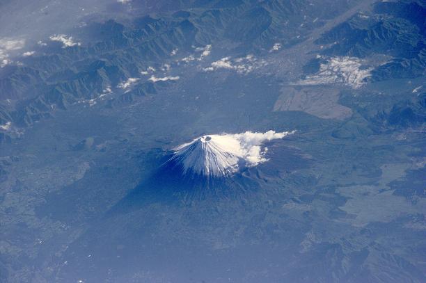 富士山(上空から)image