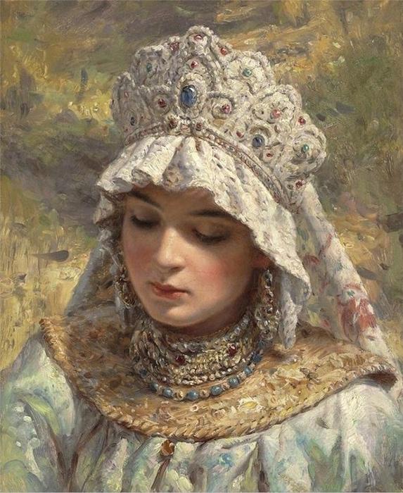 美しい人(1800年代ロシアの貴族の肖像)image