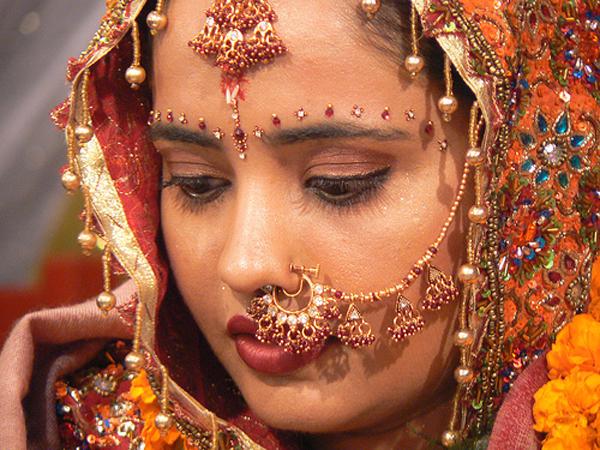 美しい人(インドの花嫁さん)image