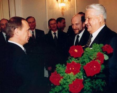赤いマフィア(エリツィンとプーチン)image