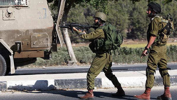戦闘のなかで(イスラエル兵士)image