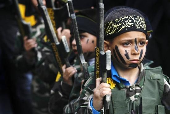 戦闘のなかで(ハマスの下で)image