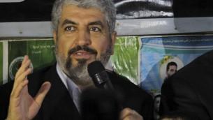 戦闘のなかで(ハマスの責任者ハレドMashaall近影)image