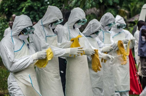 エボラ(シオラレオネ2重の手袋)image
