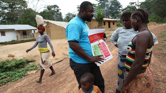 エボラ(感染知識の説明ナイジェリア)image