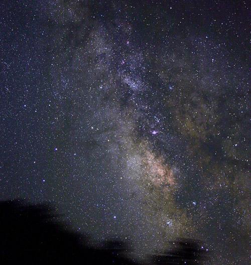 天空の(降るような星)image