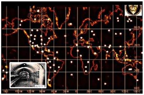 天空の(KGBによるエイリアンの地下基地マップ)image
