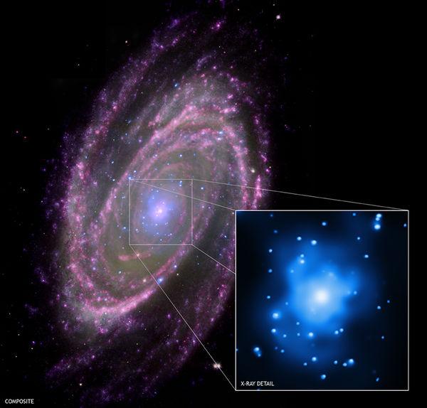 天空の(ブラックホールをもつM81)image