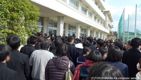 宇部高校合格2014a