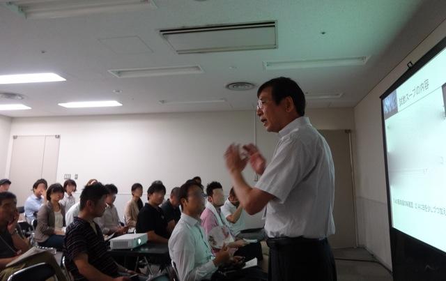福井先生講義中