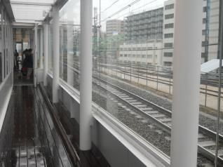 中央線の線路