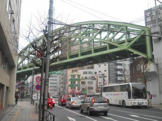 総武本線神田川橋梁