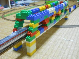 ダイヤブロック鉄橋