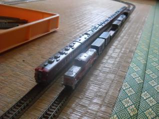 DD51貨物列車&455系あかべぇ