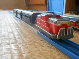 プラレールの客車列車