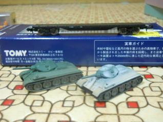 チキ7000&戦車!