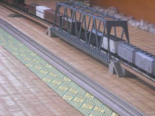 鉄橋を設置