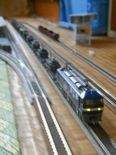 自衛隊機材輸送列車