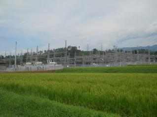 会津変電所