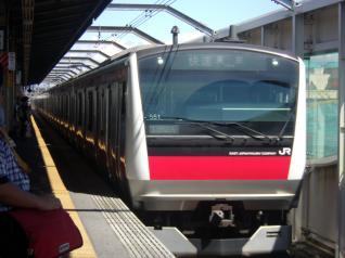E233系ケヨ551編成