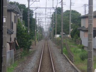 野田線車窓