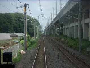 宇都宮線車窓