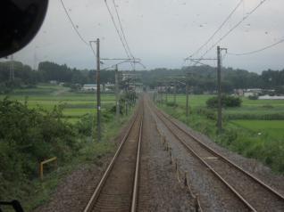 東北本線車窓