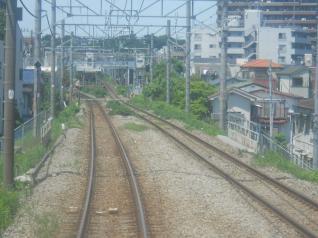 横浜線車窓