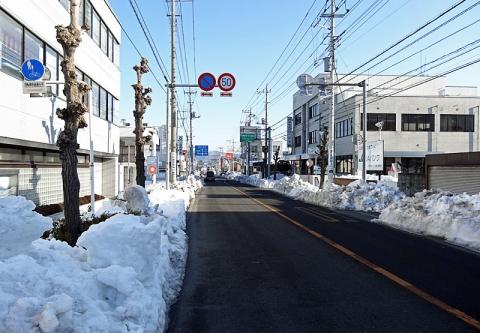 国道140号上野町交差点長瀞方面