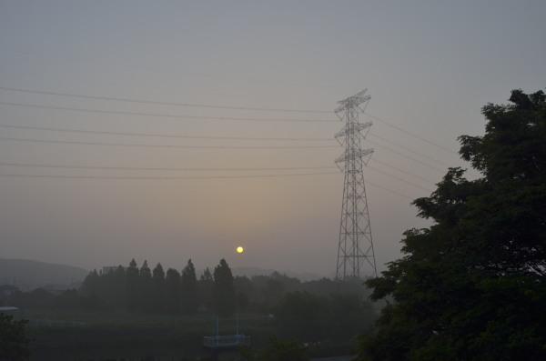 まんまる朝陽