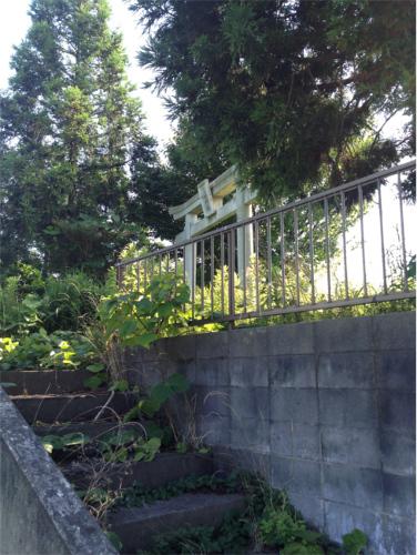 印西市笠神の日枝神社