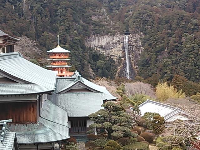 那智神社と那智の滝