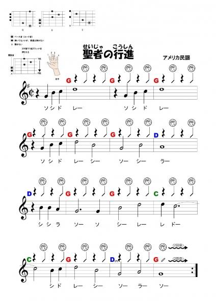 豊津中学校ギター授業2