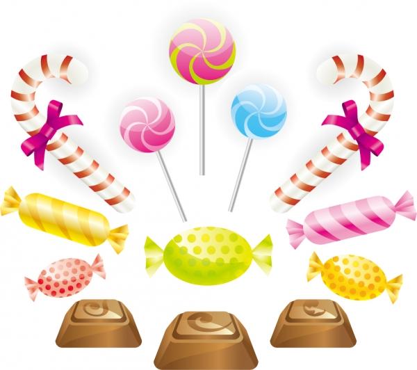 チョコレート キャンディのクリップアート chocolate candy clip art2