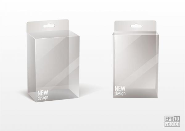 パッケージ デザイン テンプレート blank packaging vector8