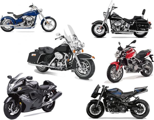 レーシングカーとバイクのクリップアート F1 racing and motorcycle vector2