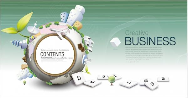 グローバル ビジネスを表現した背景 global business background design