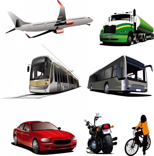 乗り物のクリップアート car Transport Vector Graphics