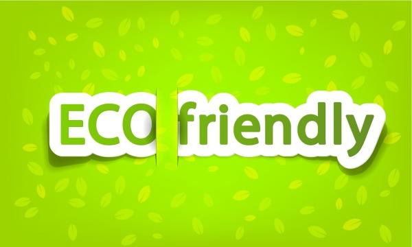 エコをテーマにしたラベル green theme label banner design2